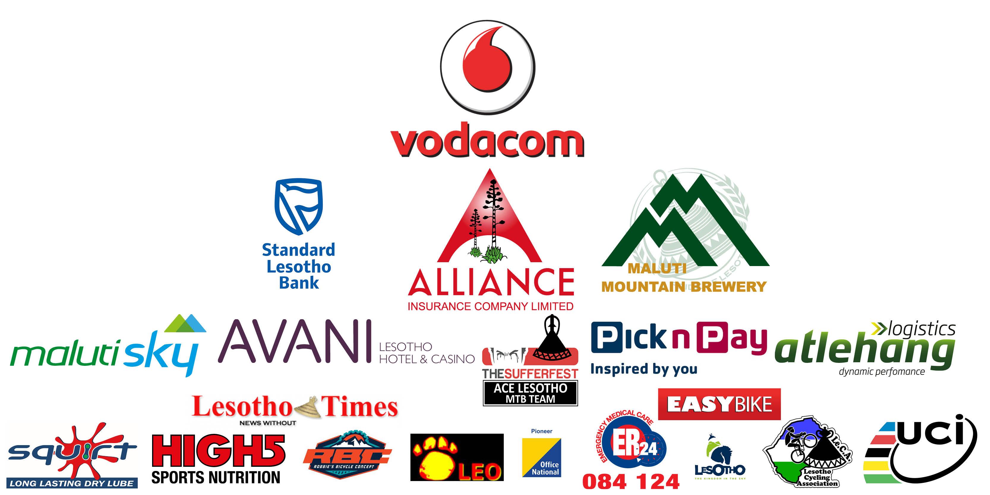 Lesotho Sky Sponsors 2016