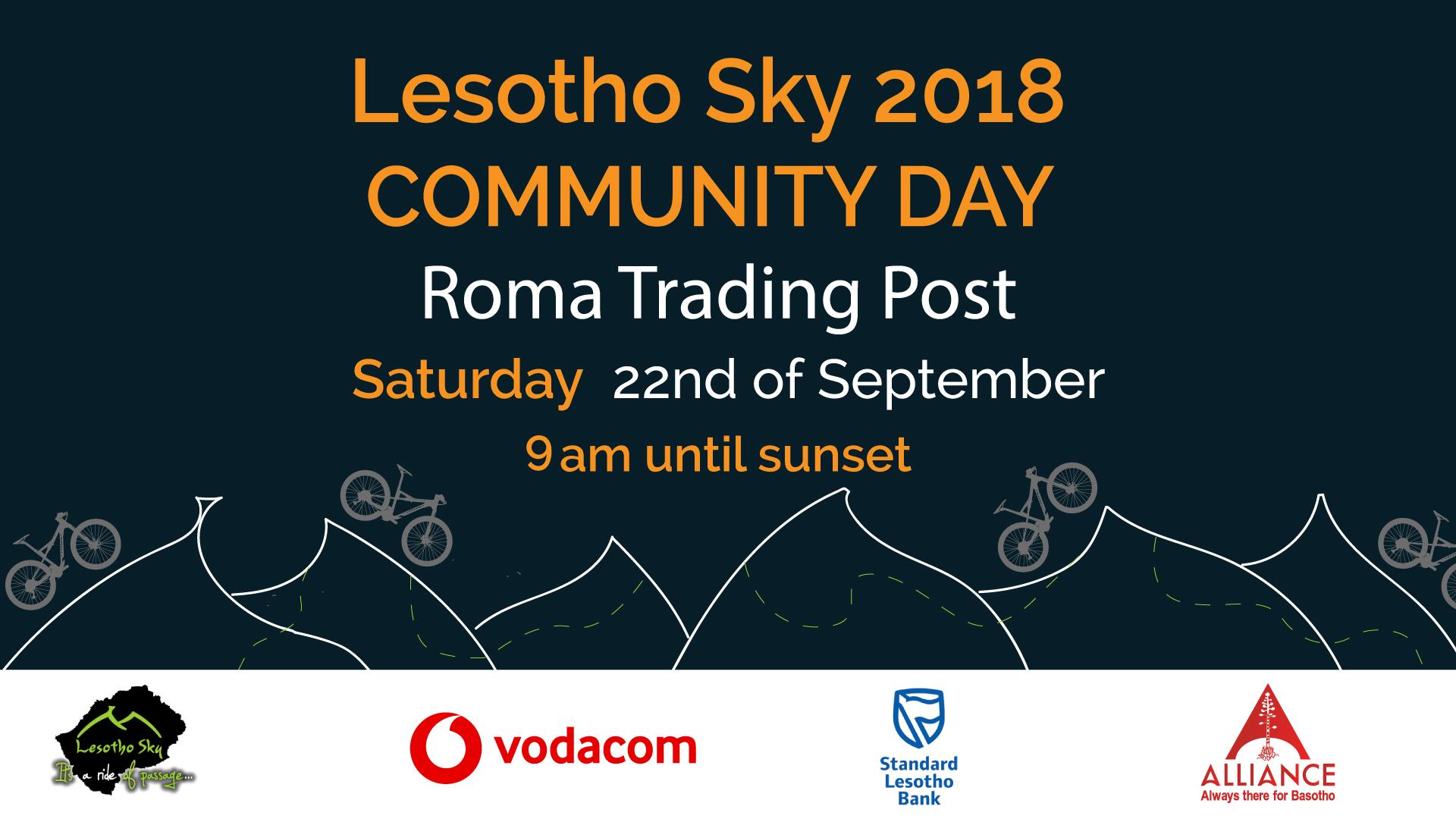 Lesotho Sky community day